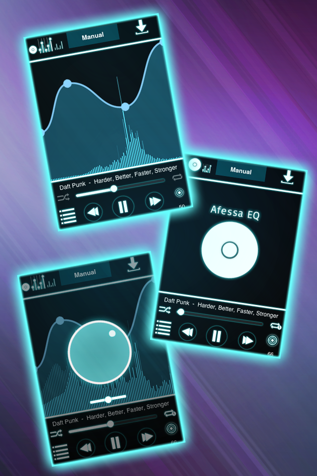 Afessa EQ Audio Player